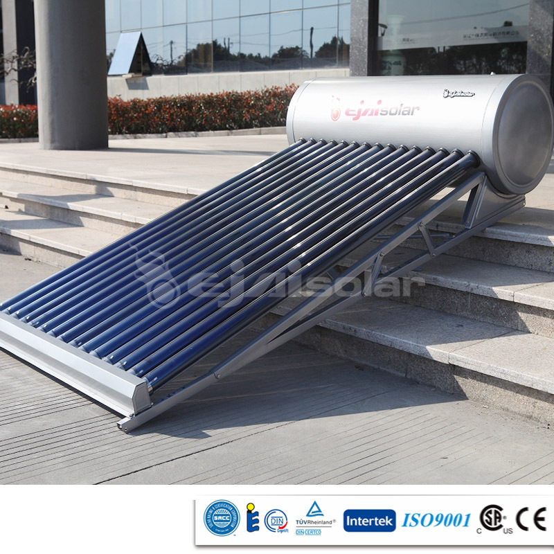 2015 High quality 10 years warranty solar hot water heater systems