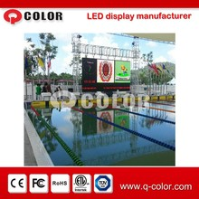 De alta resolución a todo color smd outdoor p10 score board de shenzhen q color de baloncesto de la <span class=keywords><strong>nba</strong></span>