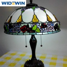 Tiffany Mediterranean decoration lamp study of desk lamp of bedroom the head of a bed sitting room