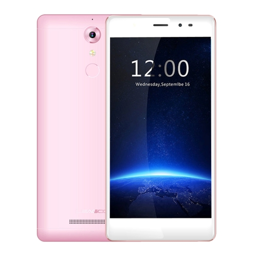 Brand New Free Sample Free shipping Original LEAGOO T1 Stylish Selfie Phone 16GB Mobile 4G unlocked 3G 2G cell smartphone Pink