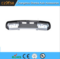Car accessories Rear guard apply to RAV4 Toyota With License plate