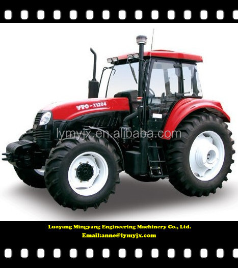 YTO X1204 120Hp four Wheel Tractors with 88.2 kw Rated power