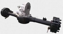 Integrated two-speed & high-power & full suspended rear axle suitable for freight tricycle