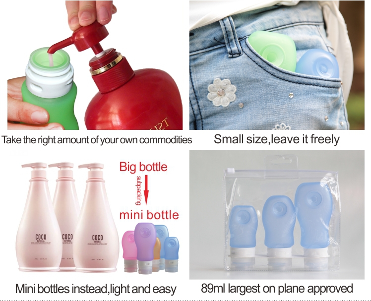 China Manufacturer Food Grade Silicone Squeeze Bottle