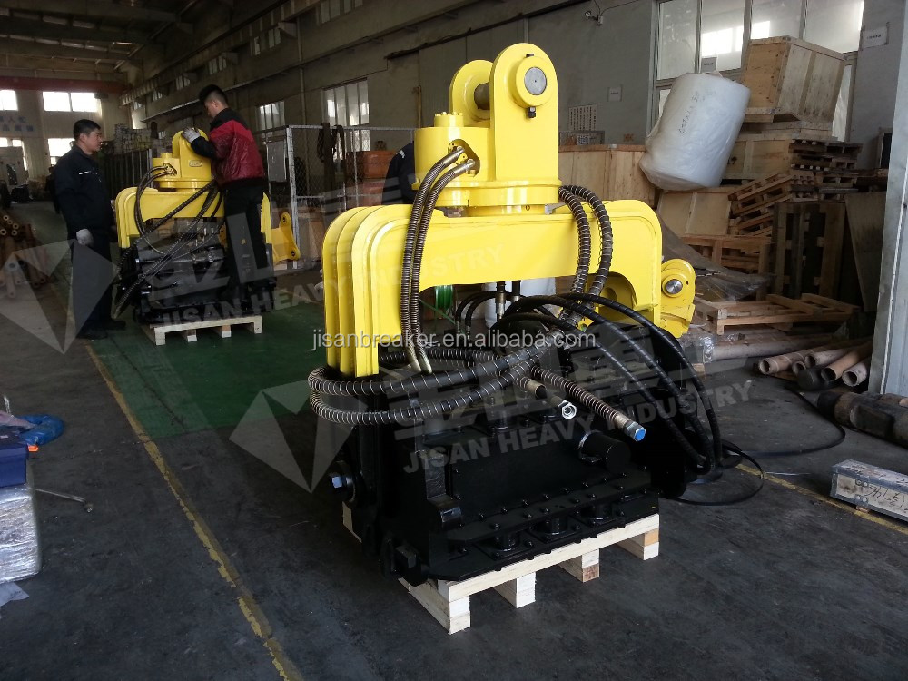 Construction equipment excavator attachment Hydraulic hammer piling driver machine for 25-35ton carrier