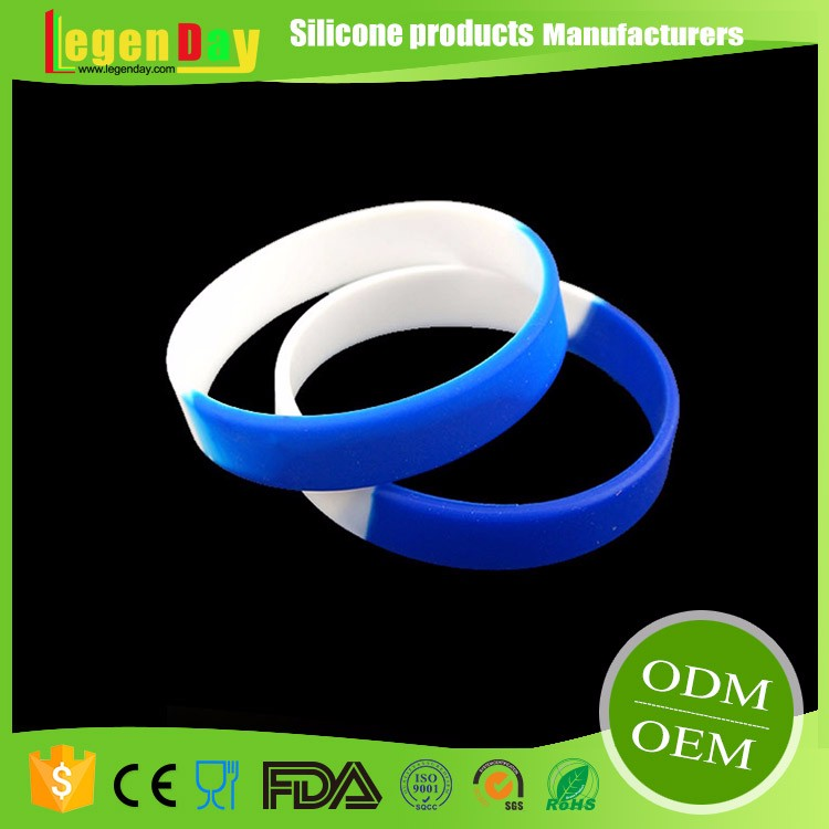 Wholesale custom Waterproof silicone rubber ball bracelet