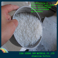 Water Treatment 16% 17% Flake Prices Aluminium Sulfate Granular And Powder