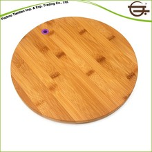FDA/SGS Certificate Nature Set Round Edge Bamboo Cutting Boards