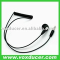 DT-2 Listen only earphone for two way radio speaker mic or Throat microphone