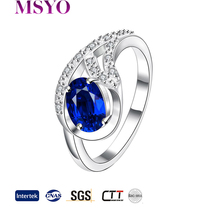 Fashion 18KG Cheap Amethyst Rings Jewelry