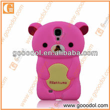 2013 New Arrival Silicone Animal Cover for Samsung i9500