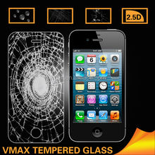 Freen Sample 0.4mm tempered glass screen protector for iPhone 4 4s OEM/ODM (Glass Shield)