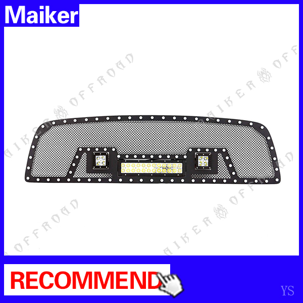 2009 - 2012 led light Grill For Dodge Ram 1500 2500 3500 auto parts accessories truck