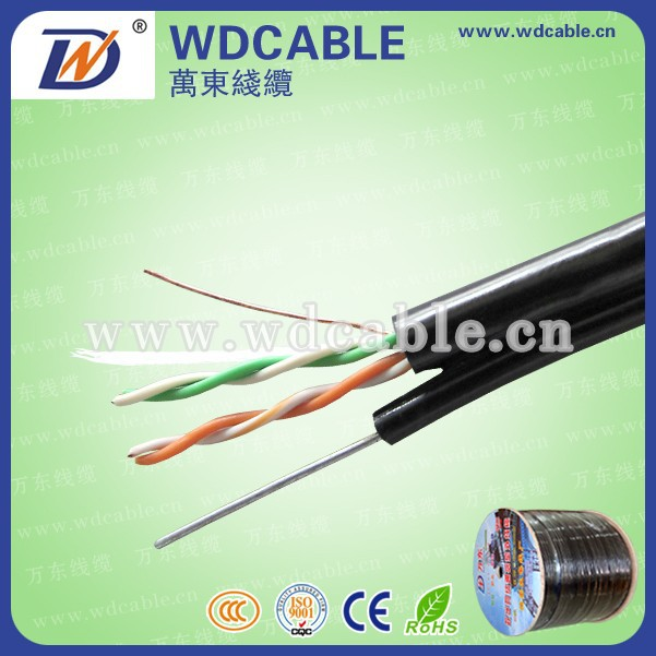flat/round Factory supply telephone wiring supplies