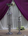 decorative crystal beaded lighted wedding pedestal columns