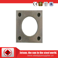 High quality stainless steel black floor flange