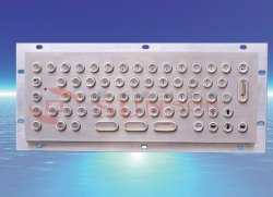 industrial kiosk metal keyboard without trackball
