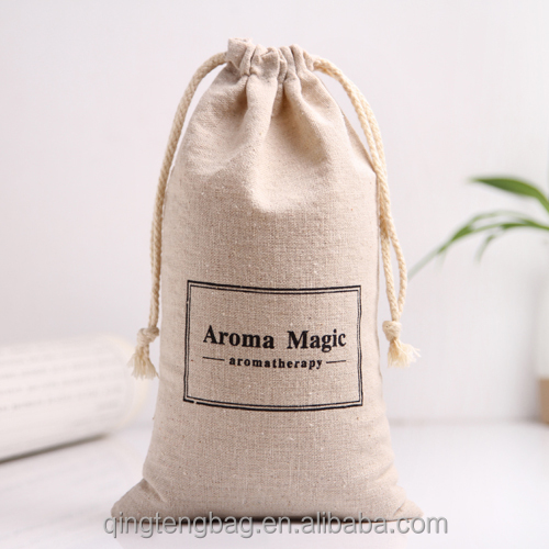 Good quality jute drawstring jewelry bag