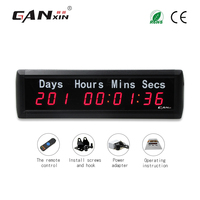[GANXIN]Wholesale Factory Price Led Electronic Days Timing Clock 999 Days Countdown Timer