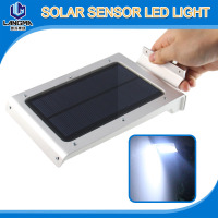 2.5W PIR motion sensor IP65 all in one solar led wall lights for garden
