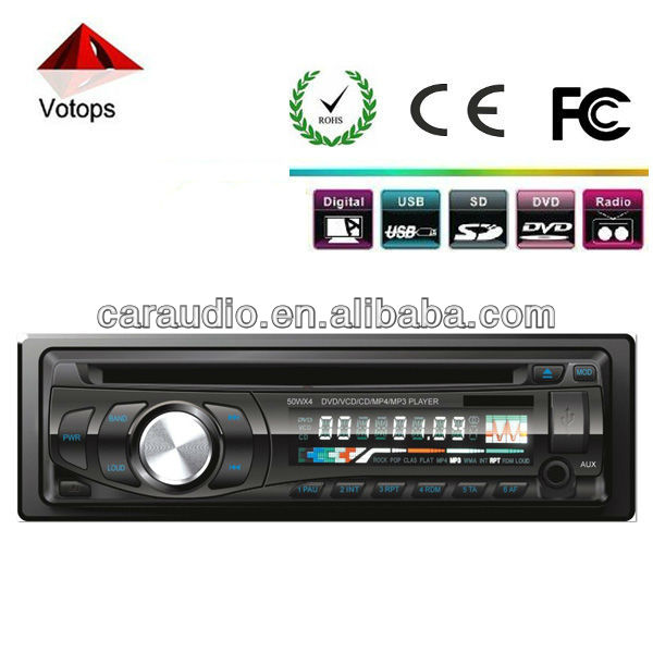 CAR DVD/CD PLAYER WITH 45~60W*4 Power output stereo audio