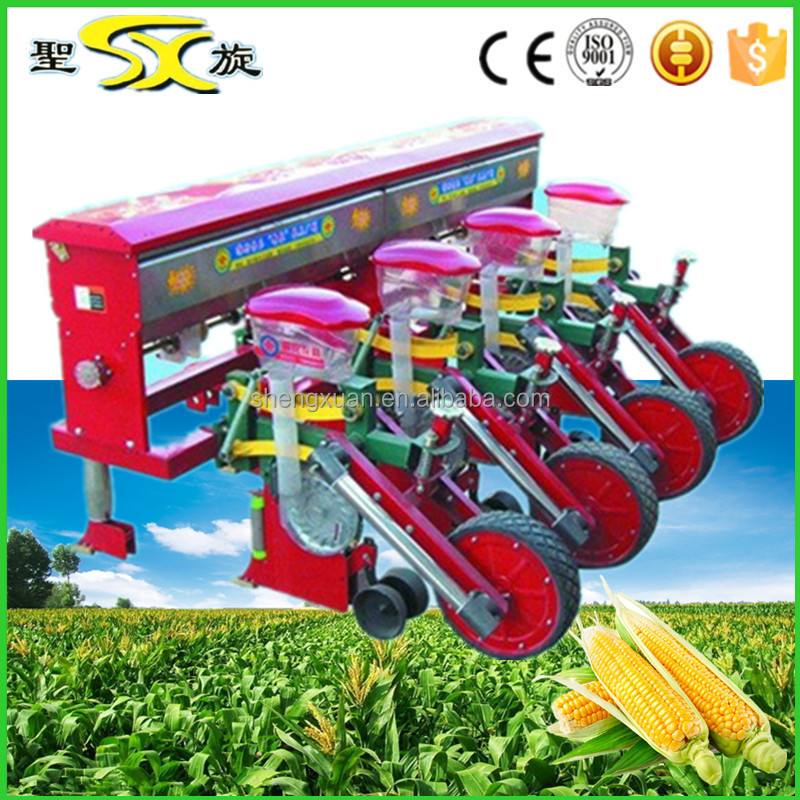 Best selling Tractor PTO 4 row corn planter with cheap price