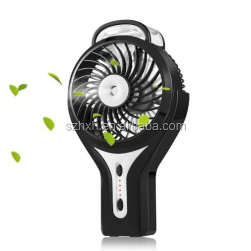 Mini Handheld USB Misting Fan with Personal Cooling Mist Humidifier Rechargeable Portable Mini Misting Cooling Fan