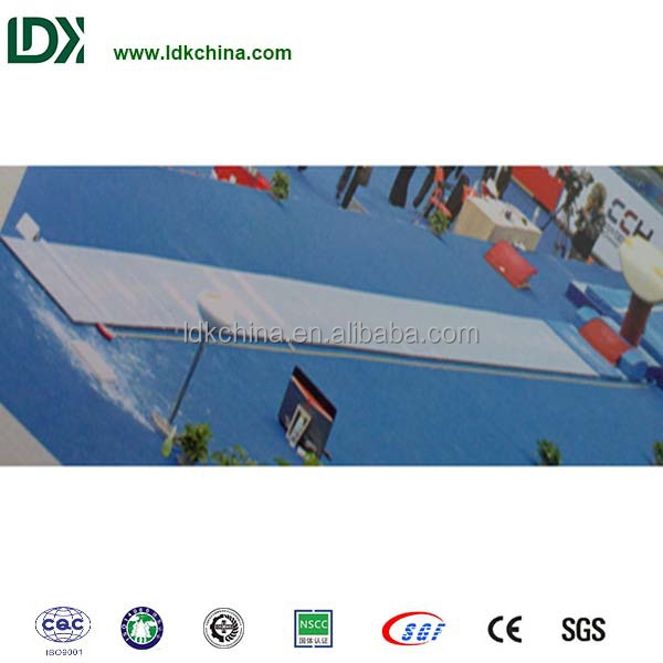 Alibaba competition vaulting runway inflatable gymnastics track