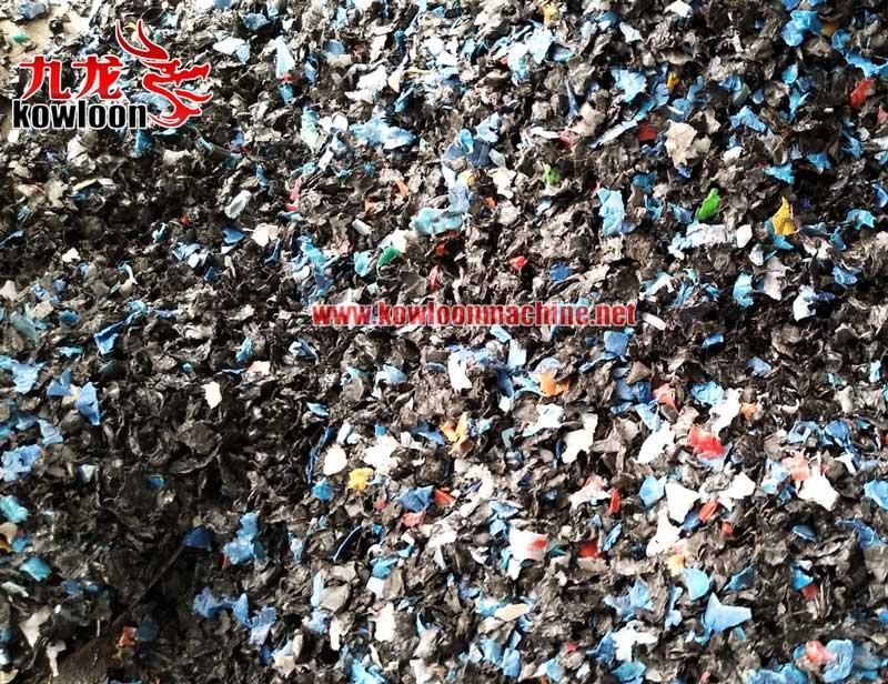 PVC pipe PET bottle recycle machine plastic shredder