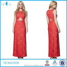 Oriental Flavor red bodycon maxi dresses vintage clothes Chinese cheongsam style robe for women