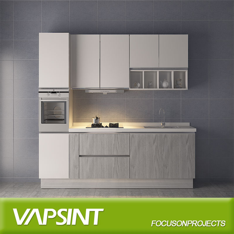 Wholesale foshan factory prefab home small modern kitchen cabinet