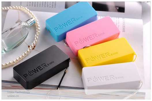 mobile power bank charger 5200mah square power bank iron man power bank