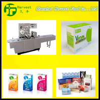 bundle box together factory tea box packing 3D transparent film wrapping machine with CE