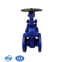 DIN standard soft seal stem water pipe gate valve