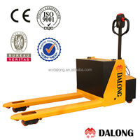 2500kg Capacity, Electric Pallet Jack, Manual Lifting, 12 hours useage time