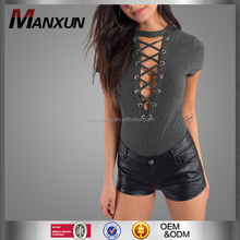 Chinese Factory Women Bodysuit Tops And Design Your Own Bodysuit