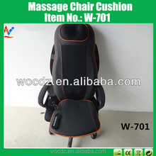 heat neck pain car back massage chair lumbar cushion