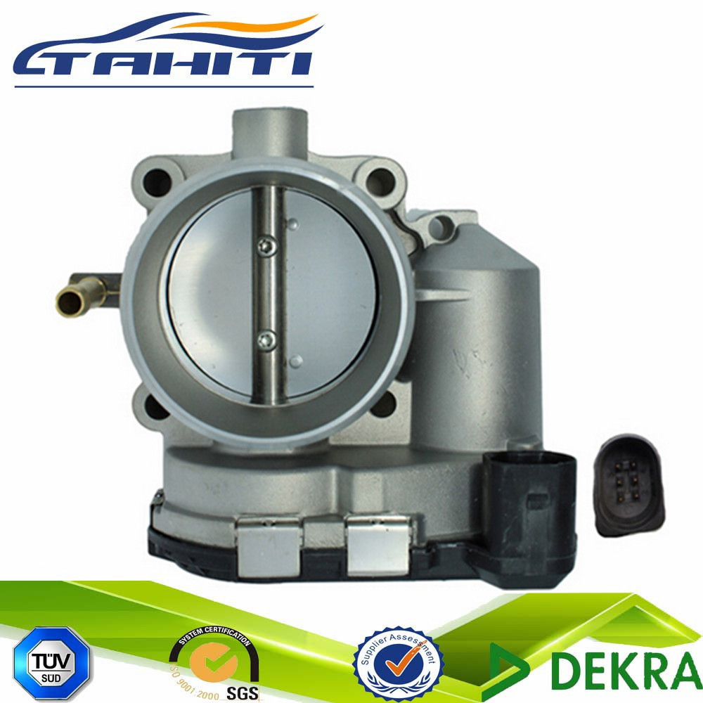 Size 50mm 60mm Auto Throttle Body Assembly For Jetta 07 06 OEM 06A 133 062BK 06A 133 062BG