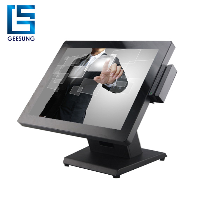 17 inch all in one touch pos terminal with CE approved for sale