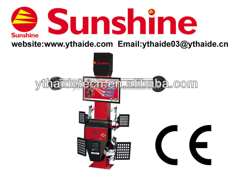 **SUNSHINE 3d electronic wheel alignment with CE (SP-G7)