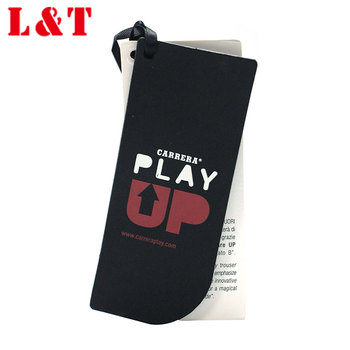 Swing Tags And Labels Guangzhou For Garment,Uv Black Apparel Hangtags