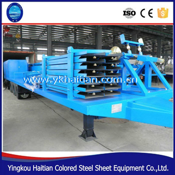 Steel Roof Arch Iron Sheet Making Machine