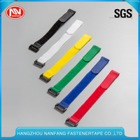 Customized Colorful Reusable Buckle Nylon Hook And Loop Cable Tie Manufacturers