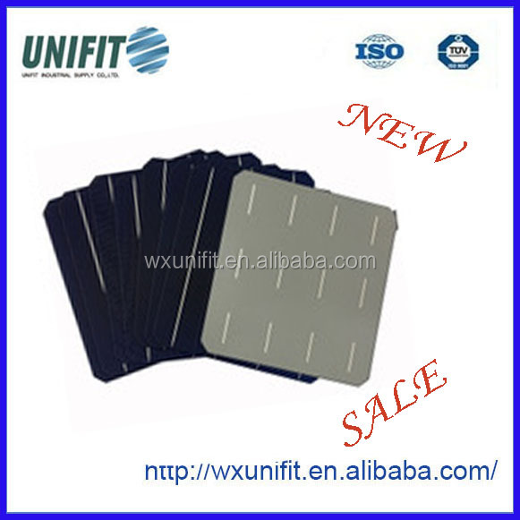 4BB mono solar cell with silicon wafer price factory stock broken solar cell