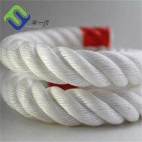 Poly danline rope PP 3 strand twisted rope 8mm
