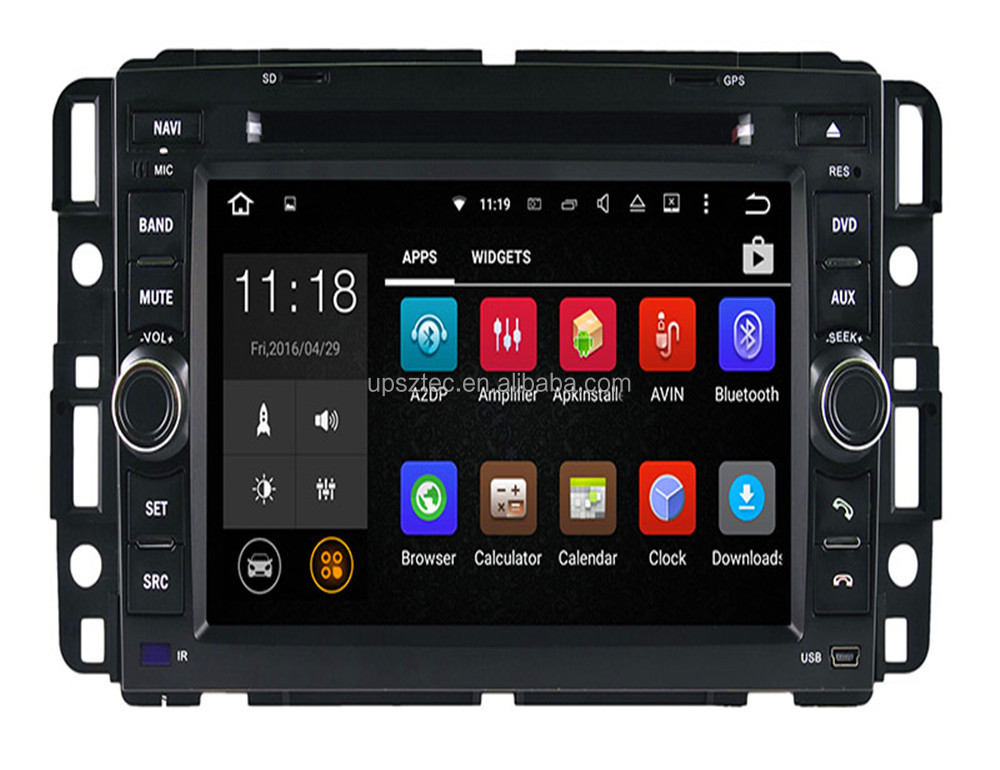 "7""Android 5.1 7.1 system Car Radio Car DVD Player for Hummer GMC (2008-2011)with GPS Built in Bluetooth TV"