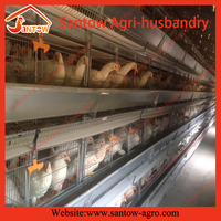 Hot new products for 2016 Automatic egg collection system poultry farm cage