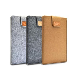 Felt Envelope Laptop Sleeve Carrying Case Cover Protector Bag For 13-13.3 inch Notebook Computer MacBook Air
