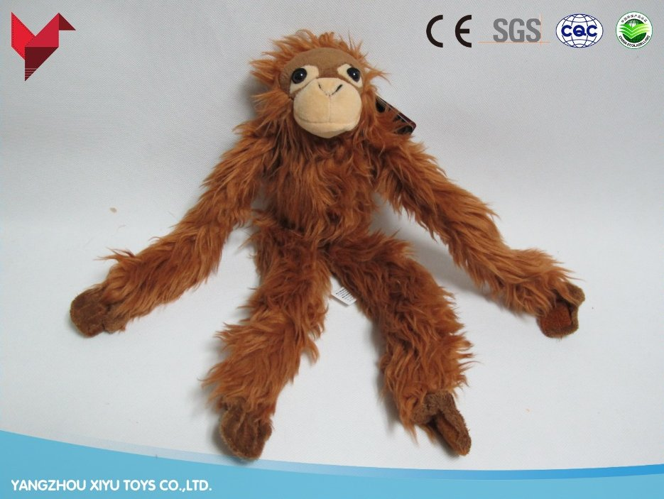 custom stuffed chinese new year plush toy long arms and legs monkey