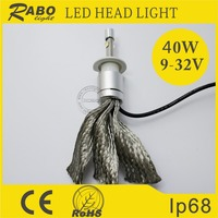 Used imported chip led headlight car 9600lm kit with super brightness